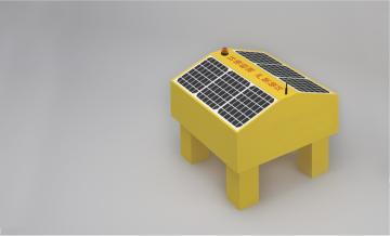 太阳能漂浮多参数水质分析仪  水质监测仪