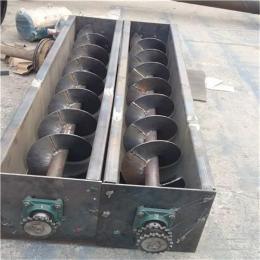 不锈钢水泥螺旋输送机 管式绞龙螺旋提升机厂家定制