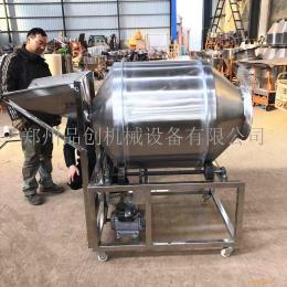 不銹鋼食品攪拌機 臥式滾筒調料混合機 魷魚絲拌料機