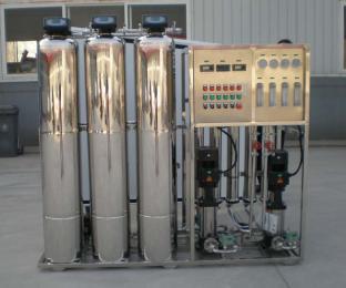 两级反渗透纯水设备,双级反渗透设备