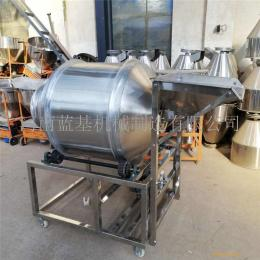 不銹鋼滾筒混合機 蘿卜條攪拌設備 臥式腌肉滾肉機