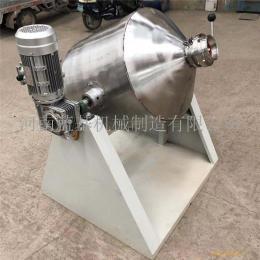 不銹鋼調味品攪拌機 靜音電機食品混合機 腰鼓式食鹽拌勻設備