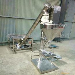 高精度食用盐包装机 不锈钢红薯淀粉冲包机 自动计量固体饮料灌装机