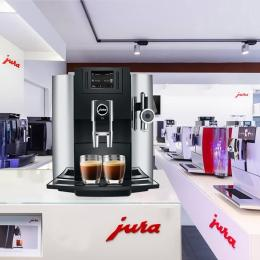 JURA/优瑞E8进口全自动咖啡机上海总经销