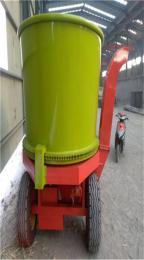 大型圆盘式草捆粉碎机秸秆整捆柔丝破包机