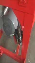 全自动圆盘式草捆粉碎机 高喷可装车的铡草机