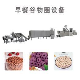 红枣谷物圈脆呼生产设备 冲饮谷物麦圈生产线