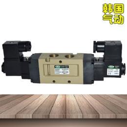 韩国DANHI丹海五5通电磁阀SVK2220气缸控制阀