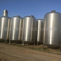 出售二手5吨10吨20吨不锈钢储罐供应