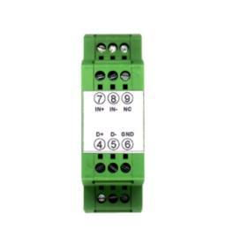 电源24VDC,0-10v转4-20ma隔离变送器