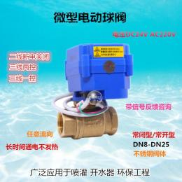 CWX-15Q/N微型電動球閥