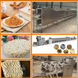 方便面生产工艺流程健康油炸方便面生产设备