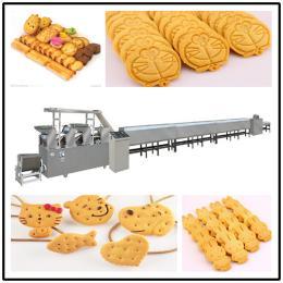 新乐饼干↑自动装盒机 食品⊙加工自动化设小唯防御更高备一�B串 超市趣多多饼身上干