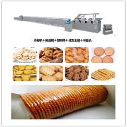 全自动饼干生产线 休闲饼干成型机设备厂家直销