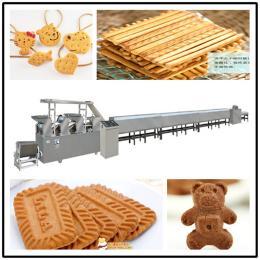 夾心奶油餅干生產線 韌性酥性餅干機