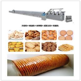 饼干机的使用 饼干包装机械 饼干生产线机械