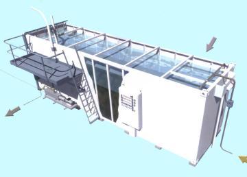 银川城镇污水处理设备泰源透明价格
