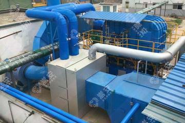 嵩安企业环保管家:沸石转轮+蓄热式催化燃烧设备(RCO),有机废气处理