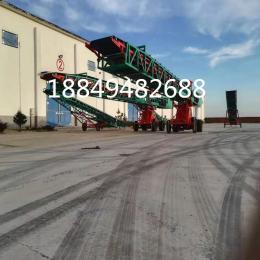 港口裝船伸縮輸送機 沙石帶式輸送機  轉向伸縮裝車機