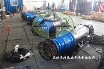 660V高压雪橇式潜水轴流泵