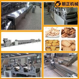 家用小型饼干生产设备 多功能饼干烘焙烤箱 华夫饼干生产线