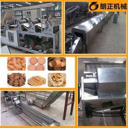 麦麸饼干机 苏打饼干烘烤设备 自动化饼干生产线 厂家直销