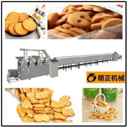 挪威压缩饼干生产线 曲奇饼干烘焙加工设备 夹心饼干机
