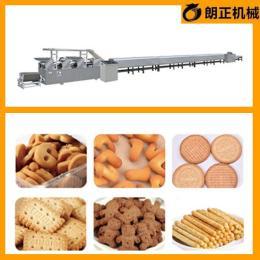 酥性饼干生产设备饼干机生产厂家朗正机械