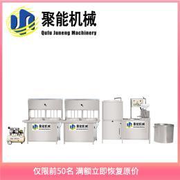 聚能全自↑动豆腐机多少钱 自∴动全自动化豆腐机生产线 湖�北聚能机械豆制品设备厂