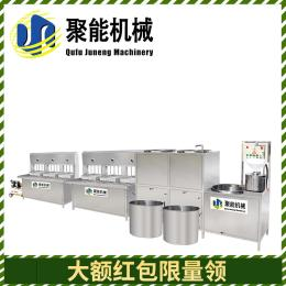 山东曲阜聚∏能豆腐机厂家 大中小型多♂种规格豆腐机�w 豆制品设备供应商