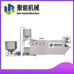 济南大型仿手工豆腐皮机 普通型不锈钢豆腐皮机 聚能机械牌豆制品设备