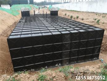供水设备地埋水箱安装基础 做?
