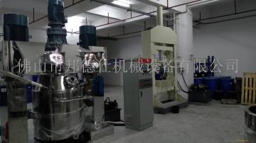 云南硅酮密封胶设备 密封胶基料设备 强力分散搅拌机