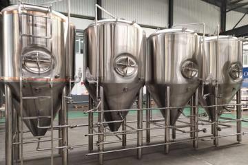 啤酒发酵罐 济南豪鲁