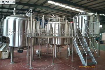 HL-1000L精酿啤酒设备发酵罐  实景场地