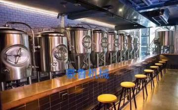 HL-500L酒店酒吧型精酿啤酒澳门新葡京线上官网-济南豪鲁