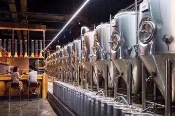 酒店餐厅通用型精酿啤酒设备