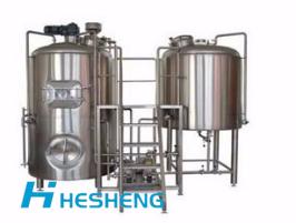 200L/300L/500L/1000L精釀啤酒設備--山東和晟啤酒設備