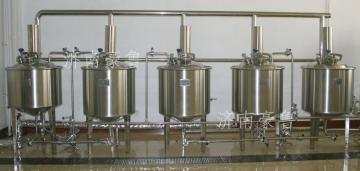 自酿啤酒设备机
