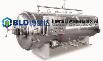 全自动不锈钢高温高压双层多功能杀菌锅