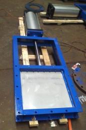 氣動方形插板閥