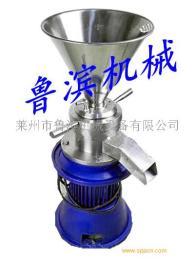 65型實驗室不銹鋼膠體磨  果醬柚子醬膠體磨研磨機