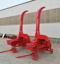 全自动输送带进料铡草机 多功能秸秆青贮铡草机
