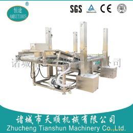 山东恒途TSXQ-80型大型蔬菜清洗机/大型高压气泡清洗设备(优质商家)