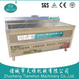臭氧消毒蔬菜洗菜机  专小型食堂清洗设备