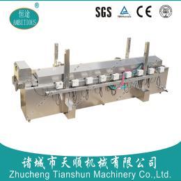 山东恒途/电加热自动油炸薯片生产线/全自动油炸流水线