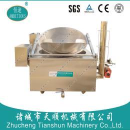 恒途TSBQ-12型油炸小小酥/燃气式膨化食品油炸设备