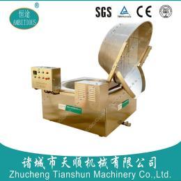 青豆自动油炸生产线 产品图片