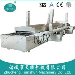 天顺TSSB-60型巴氏杀菌机/低温肉制品巴氏杀菌蒸汽加热流水线厂家直销