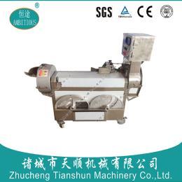 山东恒途TSQD-12型多功能切菜机/切丁机/切片机/切丝机(配合自动化生产线使用)